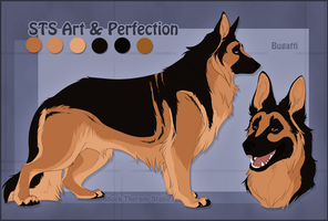 STS Dog- Bugatti by ShockTherapyStables