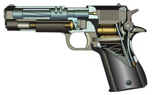 Technical Illustration - Gun by gwaihir