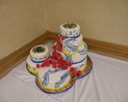 TBS  KKY 2011 convention cake by cake-engineering