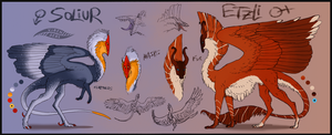 Soliur and Etzli Reference by Virensere