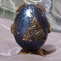 Polymer Clay Alien Egg by ValerianaSolaris