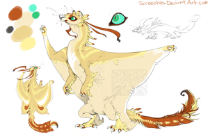 flying squirrel dragon wat by Screeches