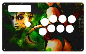 She's my favorite colors/FightStick by Kasson