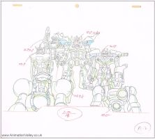 Transformers Production Drawing by AnimationValley