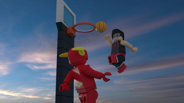 THE FLASH AND I (LEGO WORLD) by BMendoza22