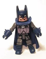 Blackest Night Batman Custom Minimate by luke314pi