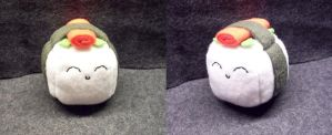 Sushi Cube Plushie by Cube-lees