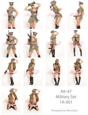 Donator Pack 1 AK47 Military by jagged-eye
