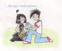 Valentines Day 2009-DXS by TheChaoticShadow