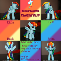 Rainbow Dash Custom by AleximusPrime