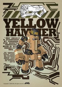 Yellow hammer by alienwang