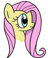 Digital Fluttershy portrait (day 2) by LovableRobot