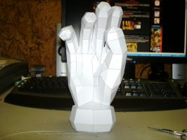 Papercraft Master Hand by Esteban1988