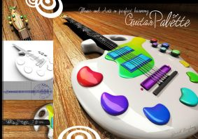My Guitar Palette by Shiriel