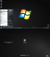 Seven Remix XP Black Theme Mod by Niwradsoft