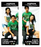 ELC Centennial Shirt Campaign by charmainecbk