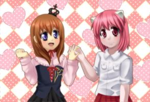 Crossovers are cute~ - collab - by Mayuyun
