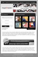 imagesONstickers Website by t4m3r
