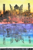 Cityscape Print by Alygator711