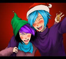 Jay and Jordan's Christmas by VerticalForklift