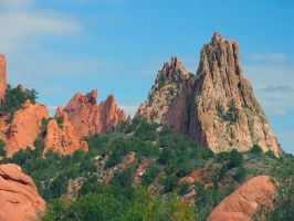 Garden of the Gods VI by sataikasia