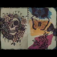 Death and Butterflies. by K1ttenCraft