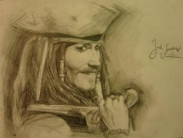 Jack Sparrow by Zusacre