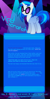 Vinyl Scratch MLP:FiM RP Table by Kama-ItaeteXIII