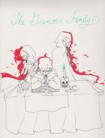 The Legendary Grimoire Family by MuseofLullabys
