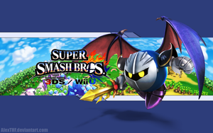 Meta Knight Wallpaper- Super Smash Bros. Wii U/3DS by AlexTHF