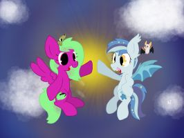Gift: Dawn Commrades by kalie0216