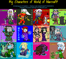 WoW chibi collection by hclark
