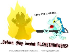 WoW: Save the Murlocs by LegendaryFrog
