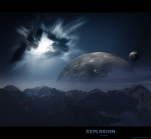 Space Explosion by Artush
