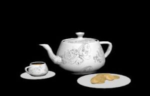 (3DS Max) Tea Time by RicePoison