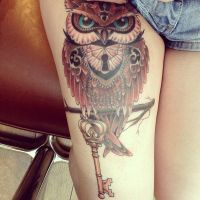 Awesome tattoo by xBlackCherryBlossoms