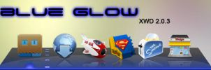 Blue Glow  xwd 2.0.3 by xxmsrockxx