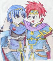 SSBM Marth and Rooooy by OniGiri999