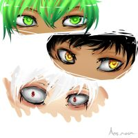 More Eyes practice... by holo-nox