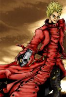 Vash the Stampede - colour by Dkelabirath