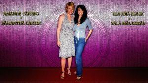 Amanda Tapping and Claudia Black by Dave-Daring