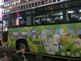 Hamtaro Bus by Rabid-Mochi