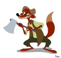 #09 - Brer Fox by MichaelJRuocco