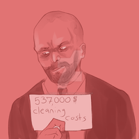 heister shaming: wolf by enormousmoonboots
