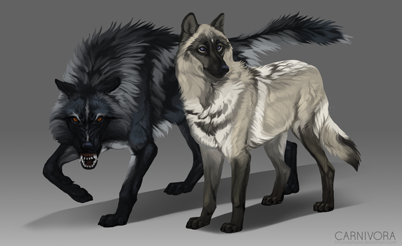 Wolf and lamb adopt couple: CLOSED by KFCemployee