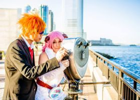 Loke and Aries Date by Spufflez