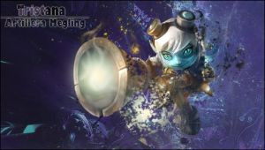 Tristana Wallpaper PSP by Beckem88