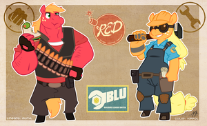 Team Apple Fortress 2 by KiRRol
