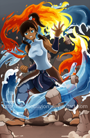 Legend of Korra by WhiteOblivion