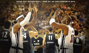 Kobe and Lebron -- End of An Unstoppable Duo by KayGeeDee